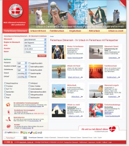 Referenz Dänemark-Ferien: Website und Suchmaschinenoptimierung